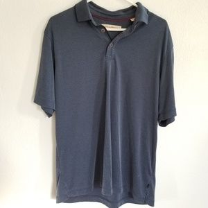 Tommy Bahama Button Up Polo Shirt Size Large